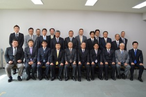 14年度帯広開建部長表彰・工事記念写真