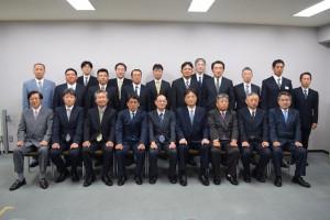 150727部長表彰・工事記念写真