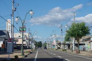 上士幌市街